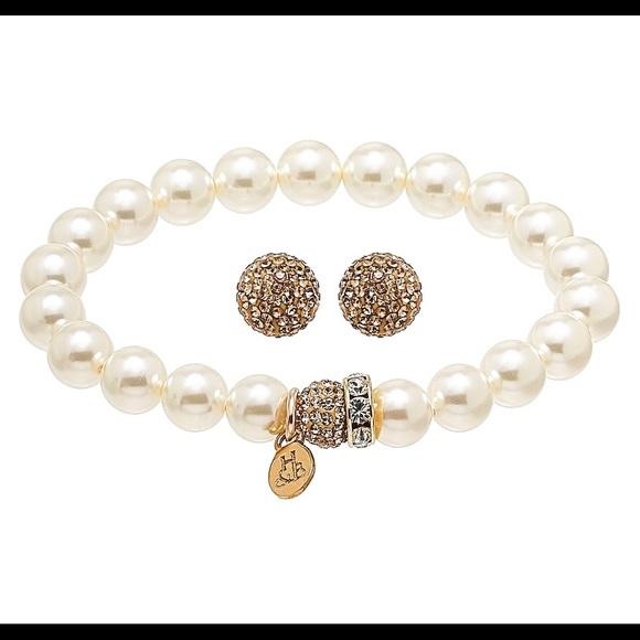 Hillberg & Berk Gold Pearl Bracelet